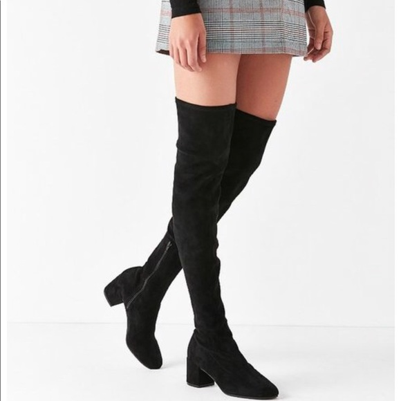 5f054bded1de Brand new Thelma Over-The-Knee Boot. Black.